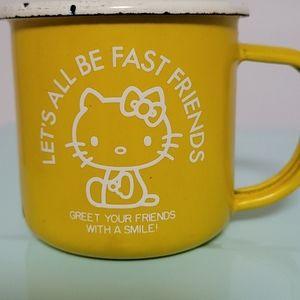 Sanrio Hello Kitty Tin Mug 1976